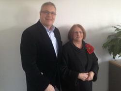 Die neuen Sprecher des AKC BW Angela Madaus und Rainer Lang