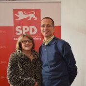 Angela Madaus und Stephan Fischer