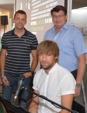 Daniel Rentscler, Stefan Rebmann, Johannes Falk